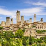skyline di San Gimignano belle torri